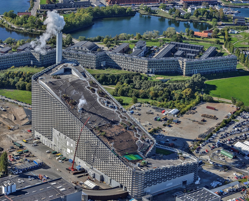 Amager Bakke from the top