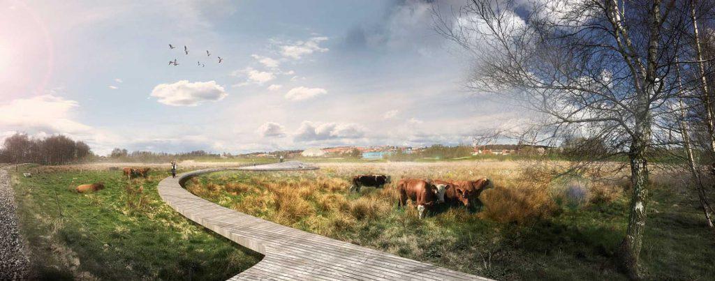 Storkeengen (Stork Meadow) plan