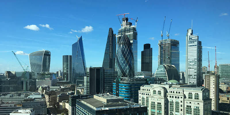 30 st. Mary Axe in London.