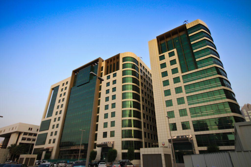Baniyas Tower in Abu Dhabi