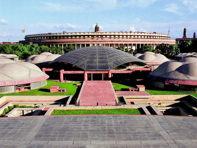 Raj Rewal - The Parliament Library