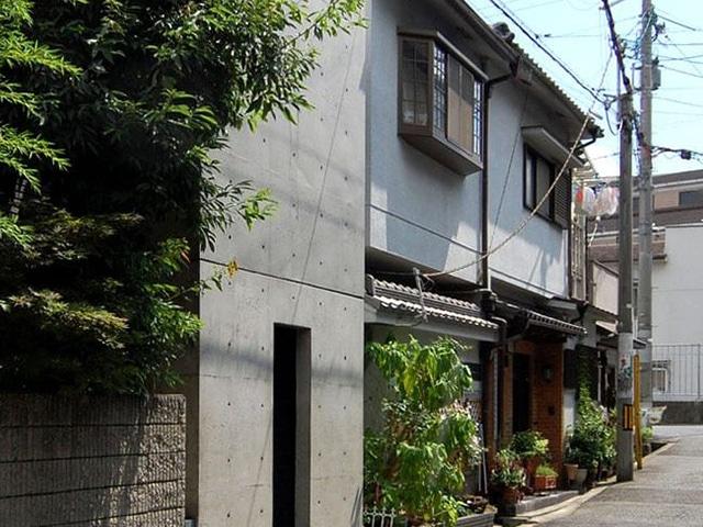 Tadao Ando The Row House