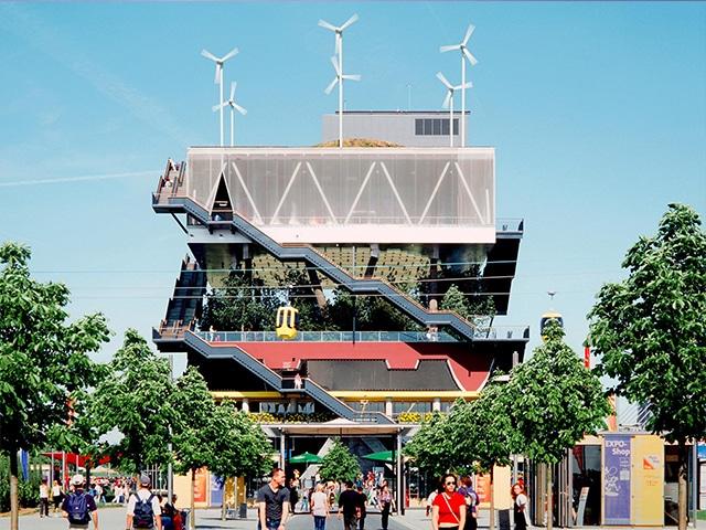The EXPO 2000 Pavilion