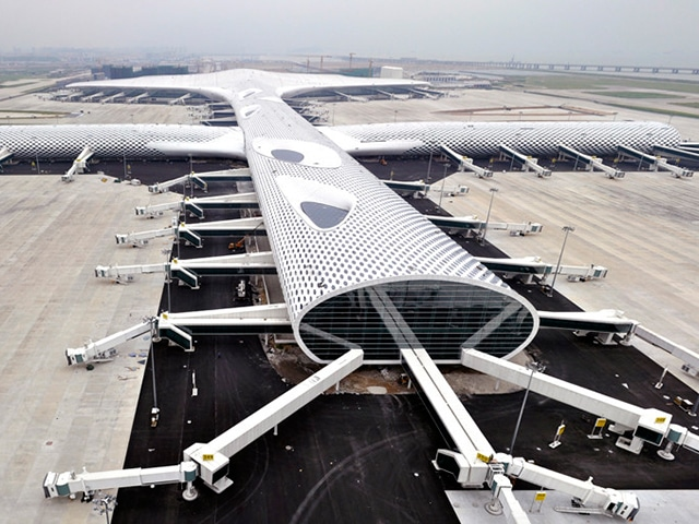 The Shenzhen Bao'an International Airport Terminal 3