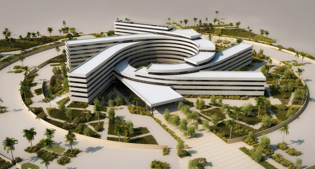 impressive UN headquarters for West Africa  2020, Senegal, expresses ambition of architecture firms goals