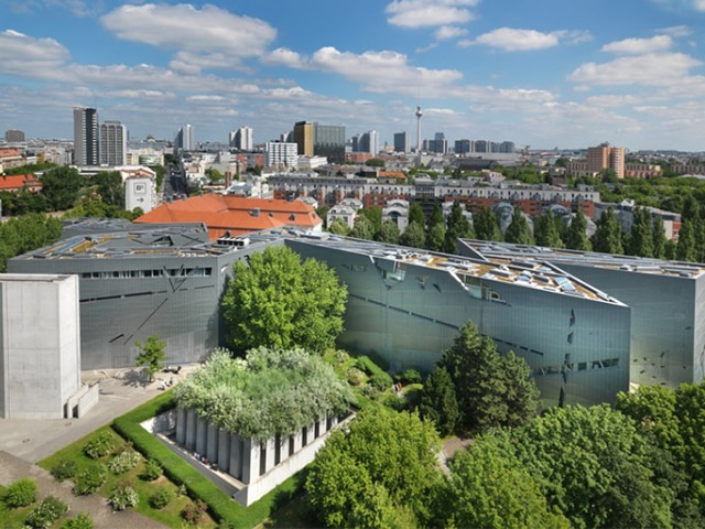 Jewish museum in Berlin by  Daniel Libeskind
