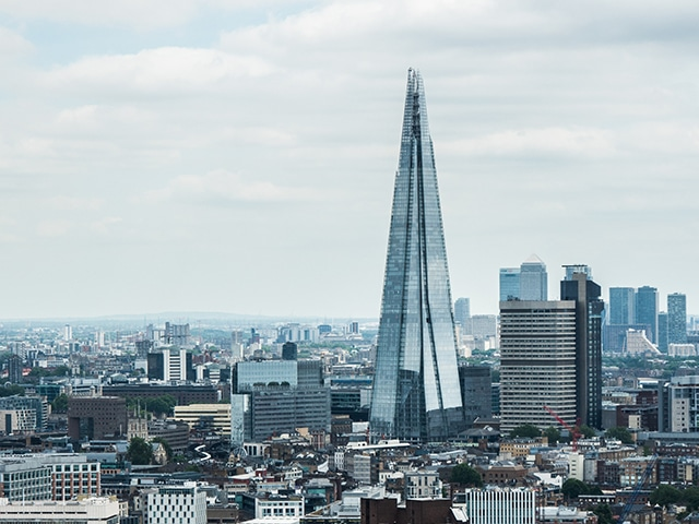 The Shard by Renzo Piano in United Kingdom.  Image by: RPBW