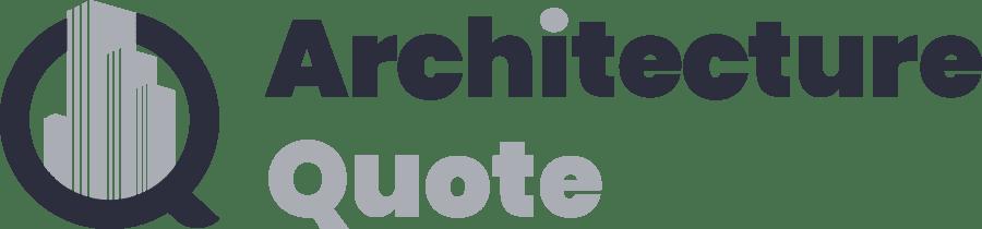 architecture quote logo
