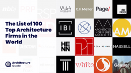 Top 100 architecture firms in 2019