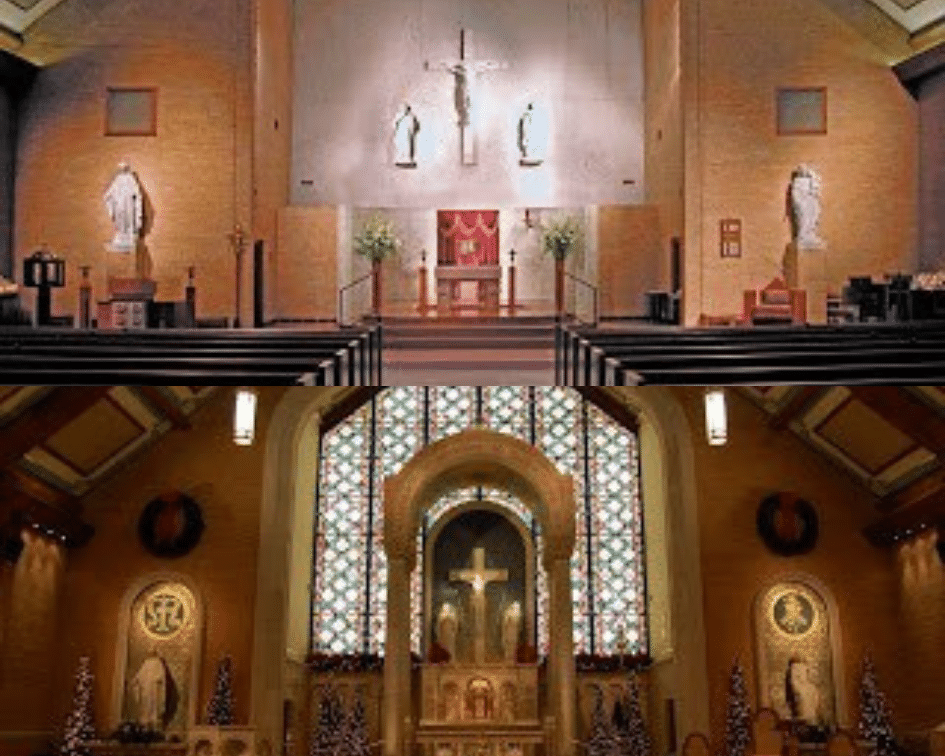 St. Louis Church Before and After, Memphis, Tennessee