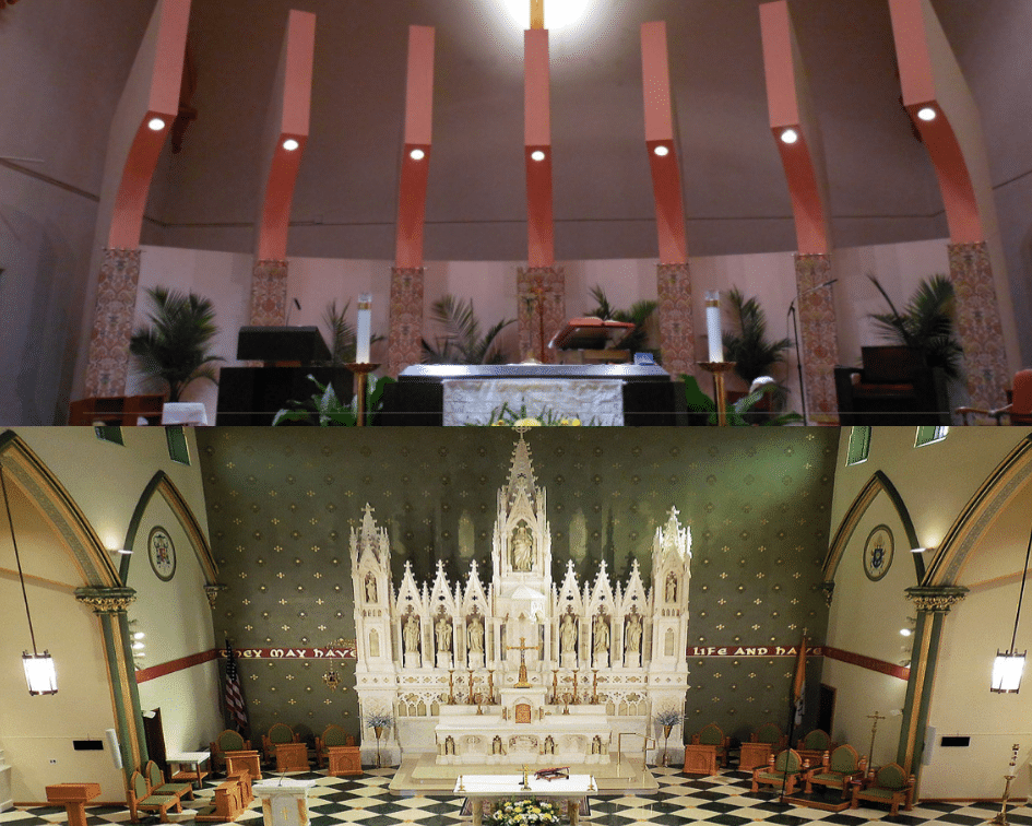 Holy Name of Jesus Before and After, Brooklyn, New York