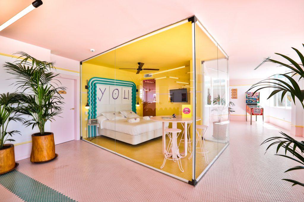 Glass Room, Art Hotel Paradiso, Ibiza, Spain