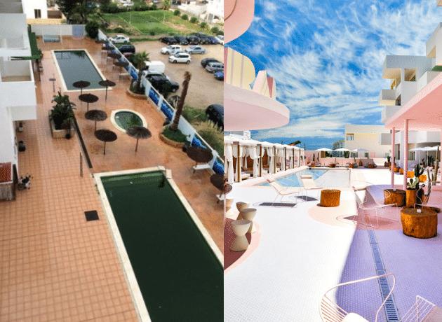 Art Hotel Paradiso transformation