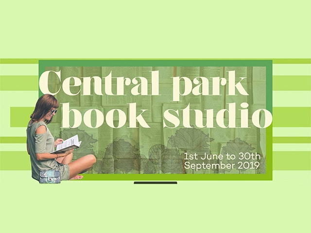 Central park book studio new design