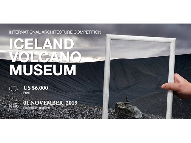 Iceland volcano museum Competition