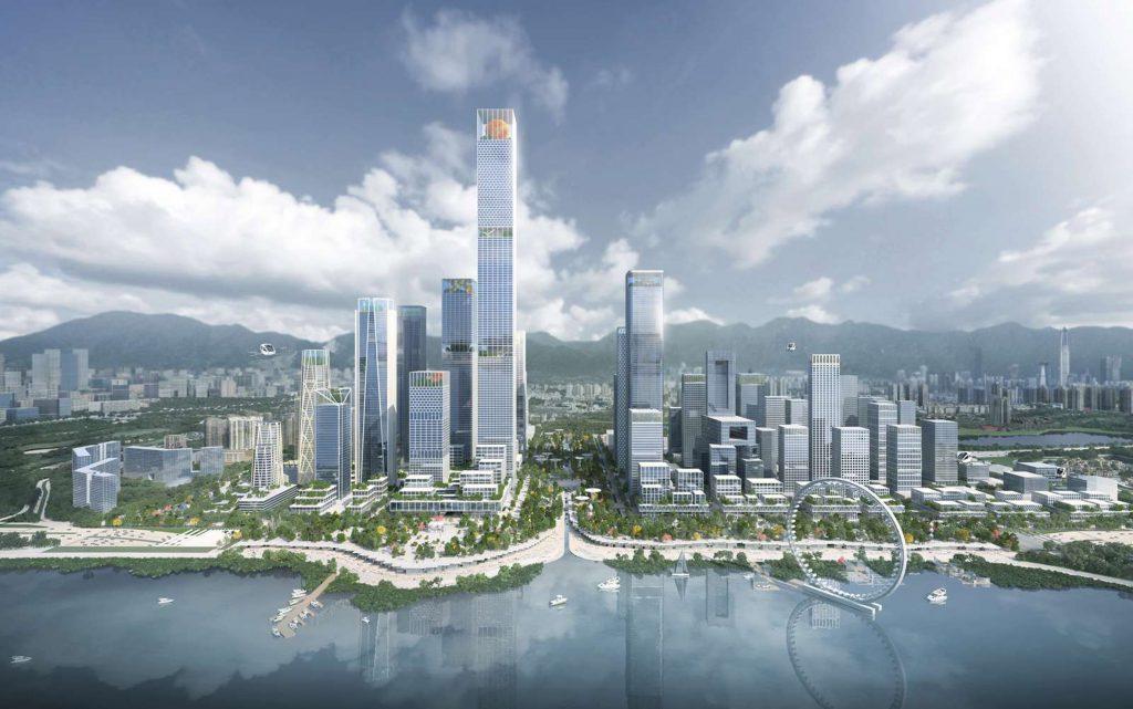 Shenzen Waterfront, Shenzen, China by Henning Larsen
