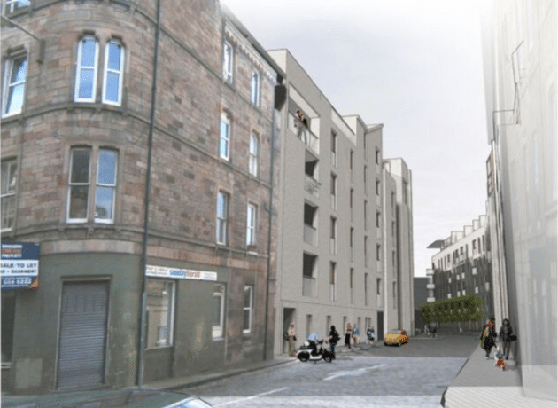 Design Street View for Fountainbridge by Oberlanders Architect