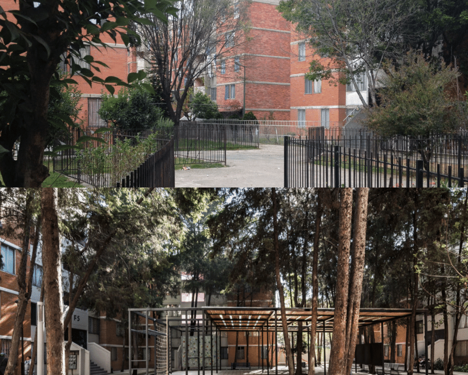San Pablo Community Before and After, Mexico City, Mexico