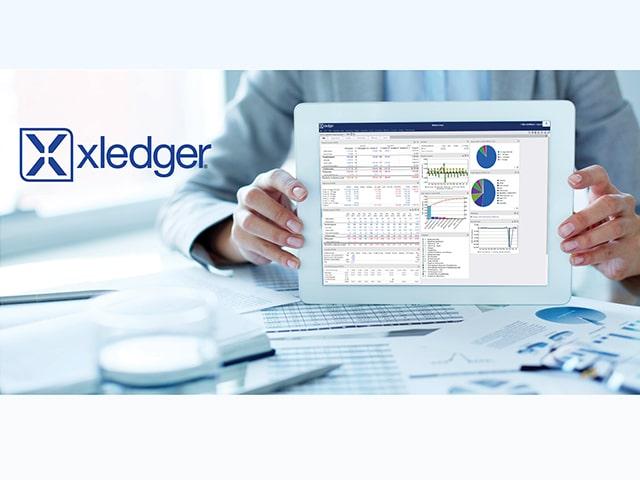 Xledger app view