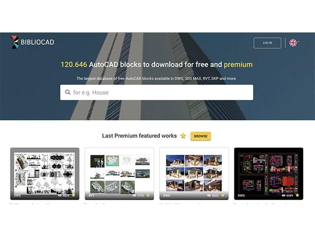 Biblio CAD architecture software