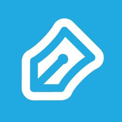 Right signature logo