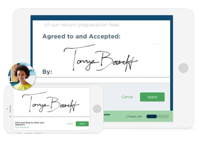 Right signature board architecture software