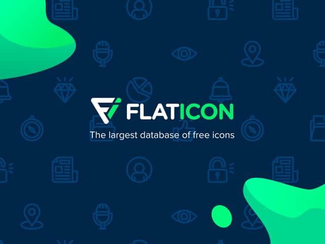 flat icon dashboard