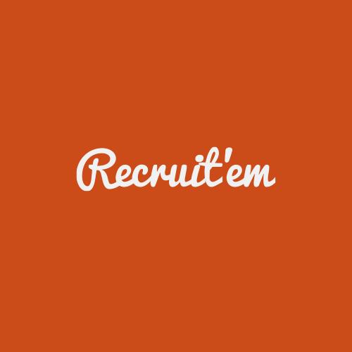 Recruit'em  logo