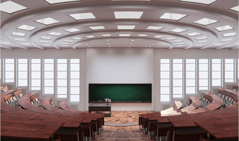 Architecture school auditorium image