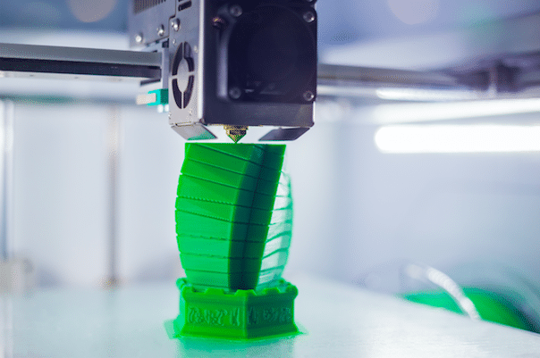 3D Printer in action image