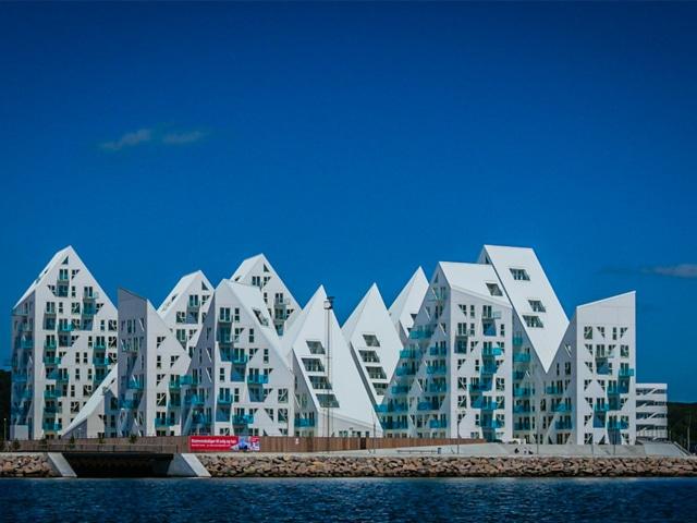 iceberg houses in Aarhus