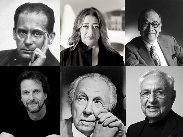 famous modern architects