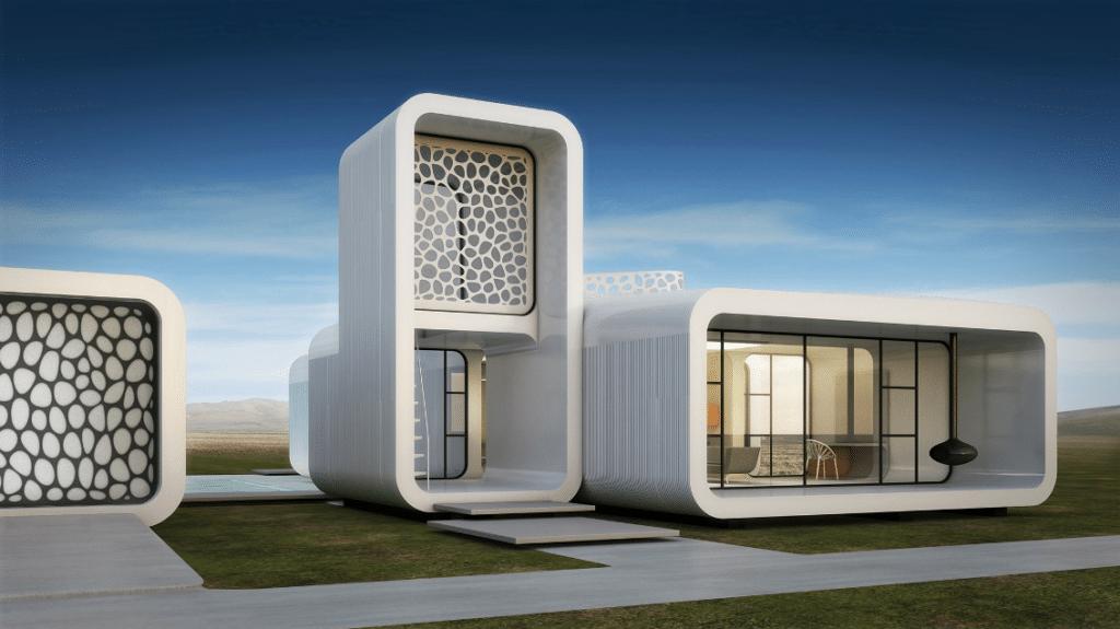 Dubai 3D printed office image
