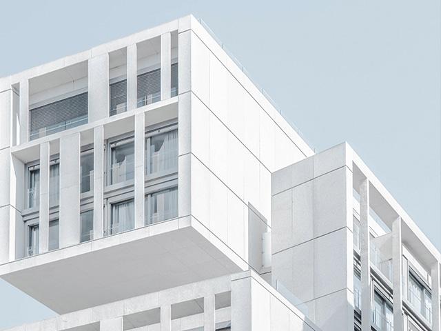 sharp lines found in modern architecture