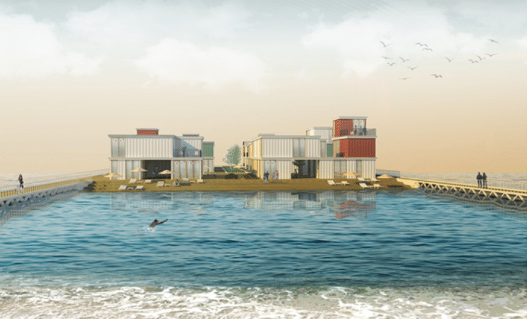 Tel Aviv Pier Housing winning proposal