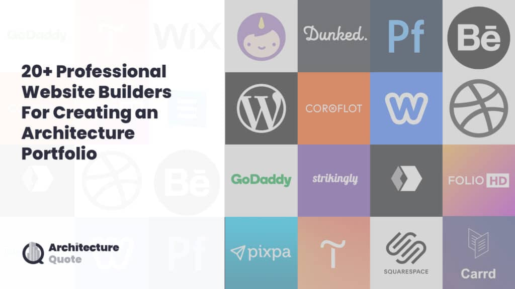 feature image 20+ professional website builders