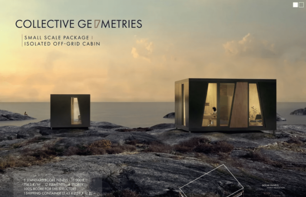 Collective geometries winning project
