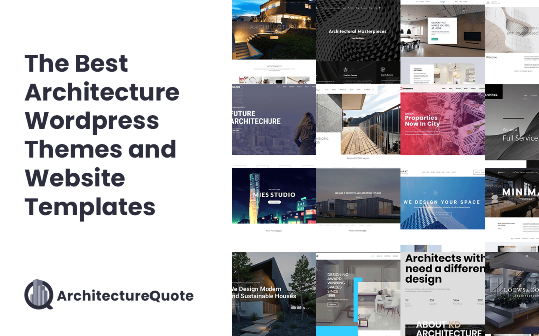 The Best Architecture WordPress Themes and Website  Templates [2020]