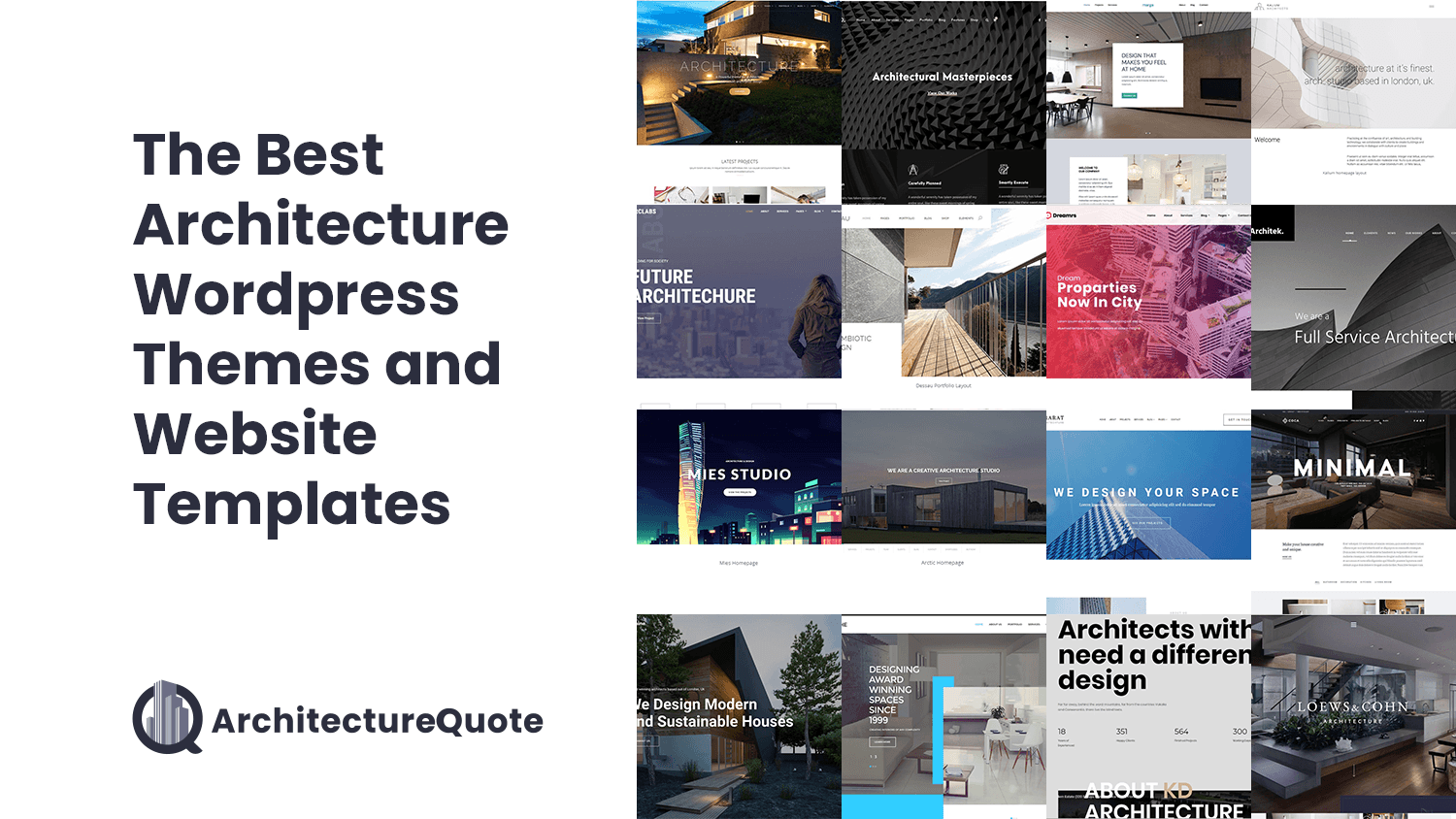 best themes for architecture website