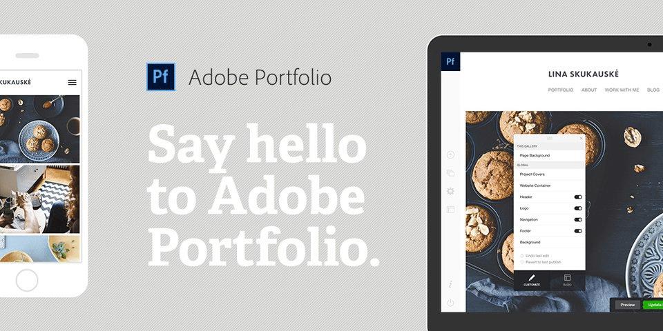 Adobe Portfolio Image