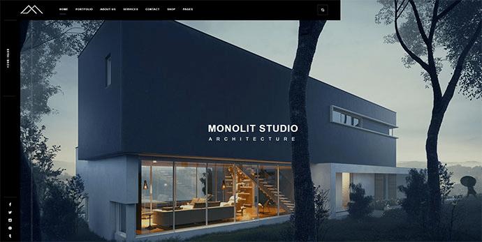 Monolit architecture template layout