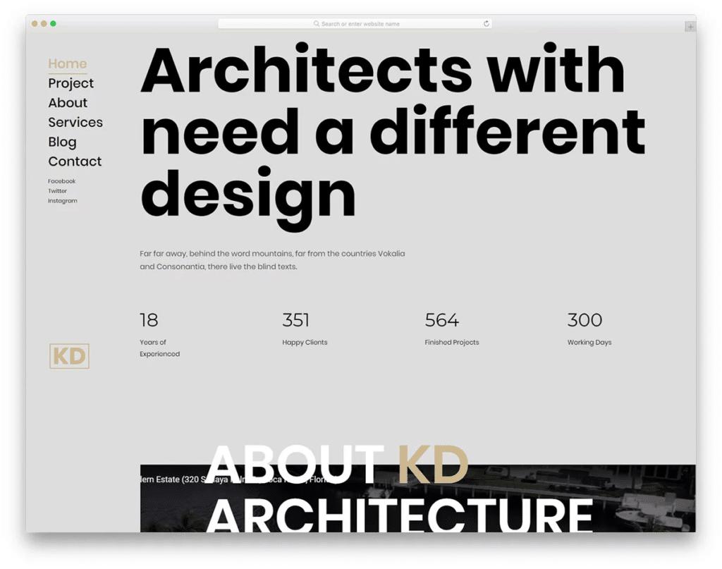 KD homepage