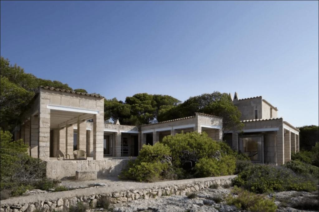 Utzon Mallorca house. A summer home Jorn Utzon built.