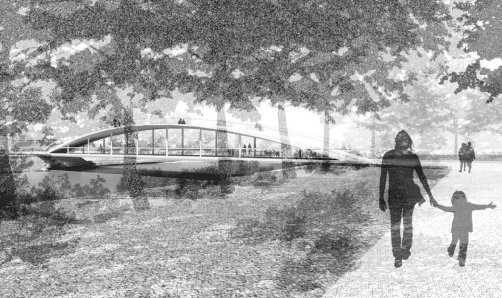 The winning Footbridge proposal.