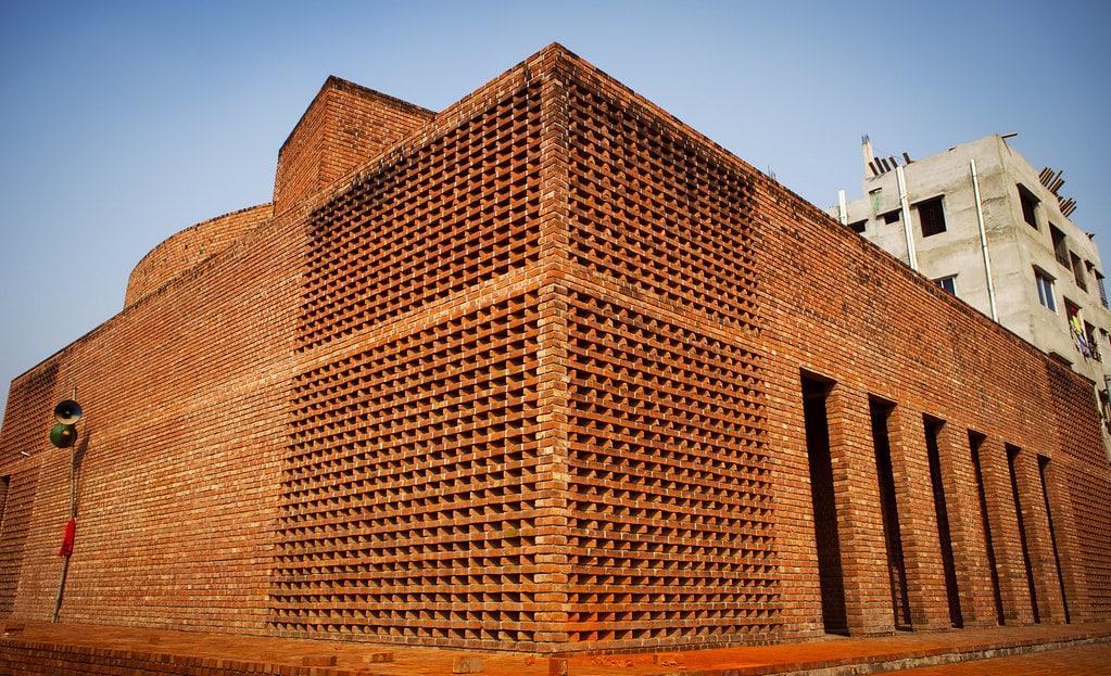 Baitur Rauf Jame Mosque in Dhaka.