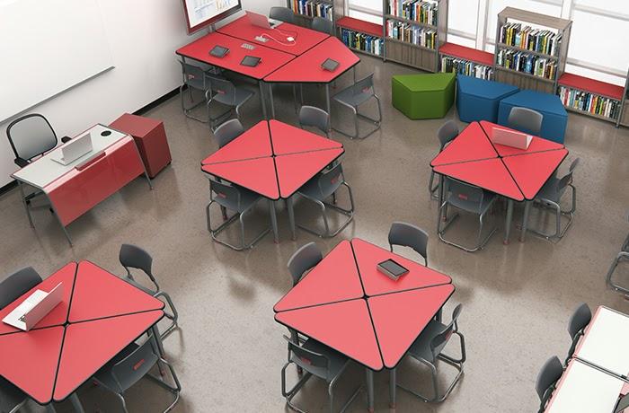 flexible desk furniture north arkansas high school