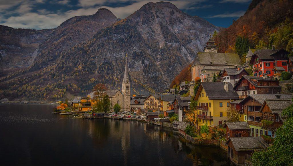 Austrian architectural landscape