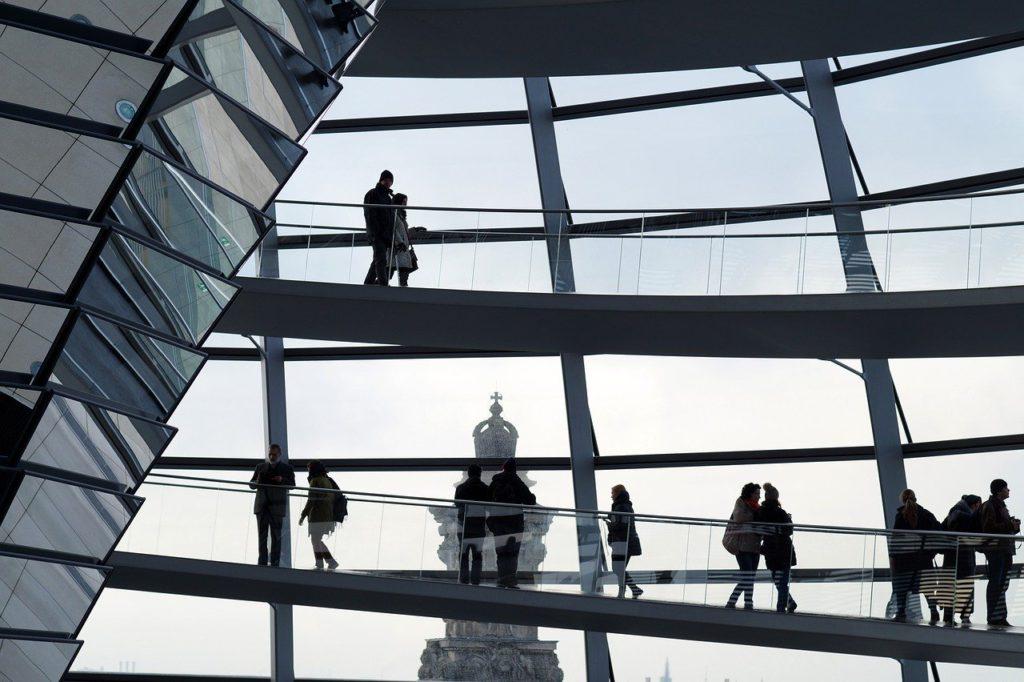 German architectural landscape