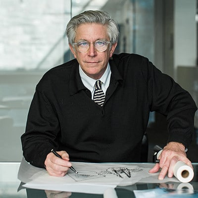 Bill Hellmuth chairman ceo HOK