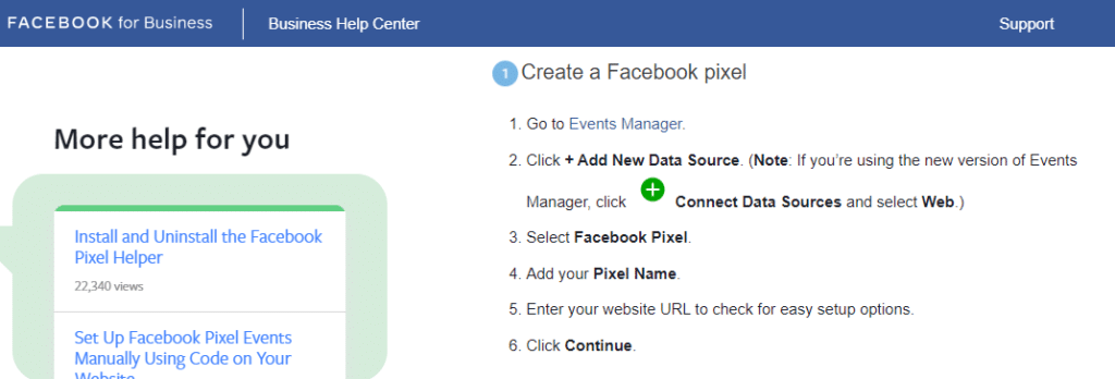 facebook pixel tracker how to